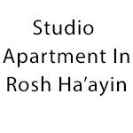 studio apartment in Rosh Ha'ayin
