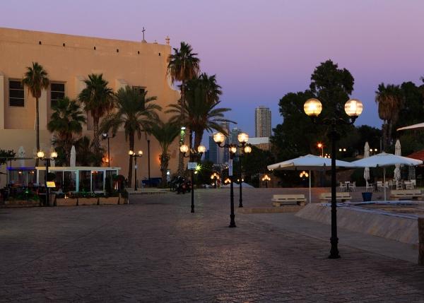 Jaffa boardwalk