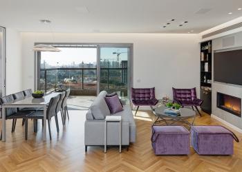 עיצוב דירה בגבעת שמואל
