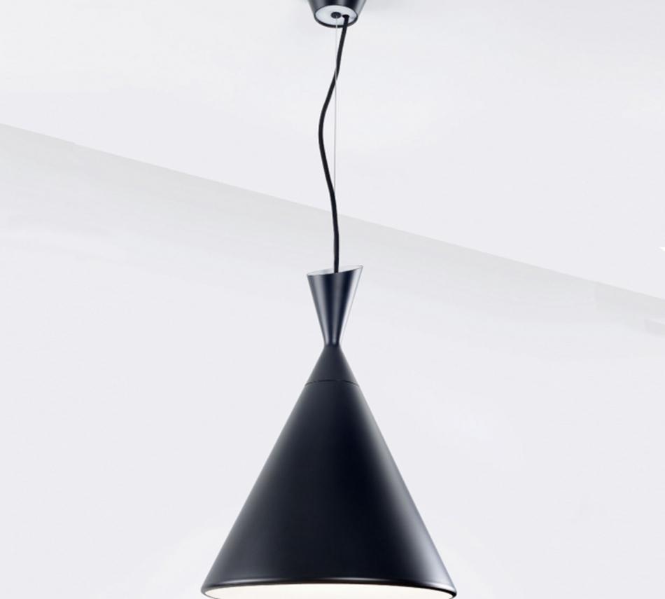 מנורות תליה  HUSK   SP  שחורלבן