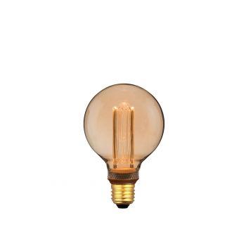 פילמנט דיימונד 4W G95 אור צהוב