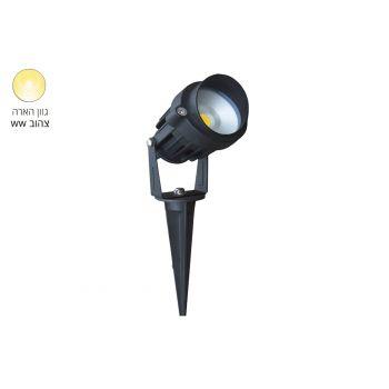 אדר דוקרן LED 12V 6W אור צהוב