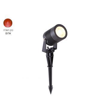 גרדן דוקרן LED 5W אדום