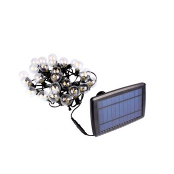 גרילנדה LED סולרי לבן חם