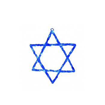 מגן דוד תליה כחול