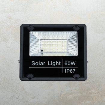 סקוט פרוזקטור LED סולרי + שלט