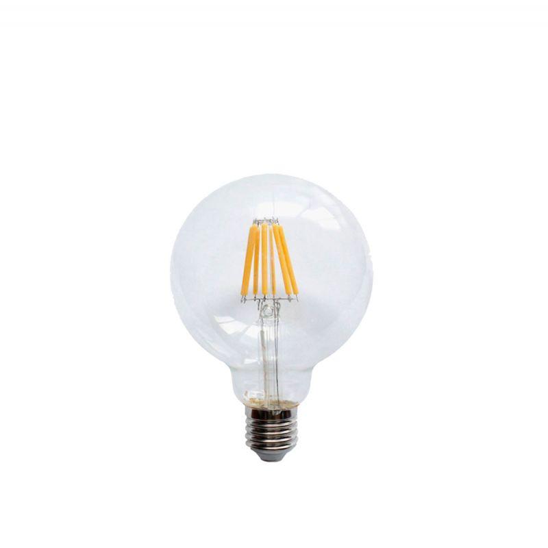 פילמנט LED 8W E27 95 אור צהוב