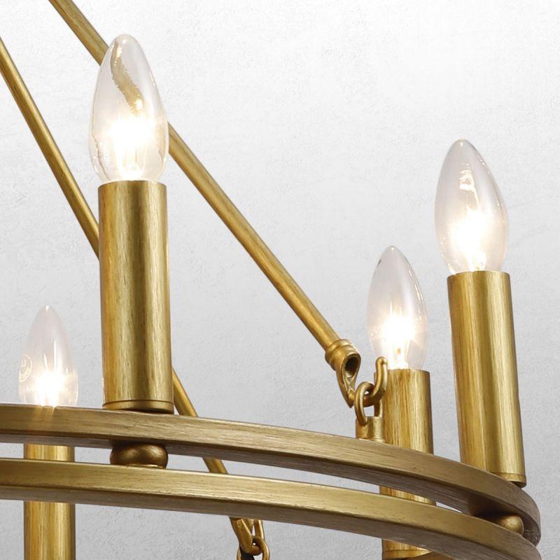 פילמנט LED נר 2700K 4W E14 לעמעום אור צהוב
