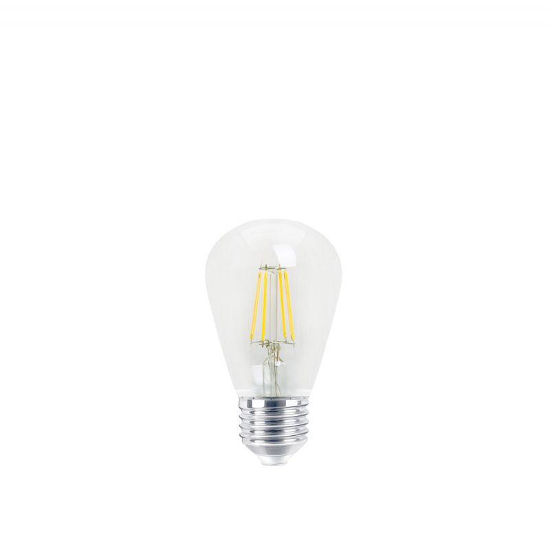 פילמנט LED 2700K 4W E27 ST45 אור צהוב