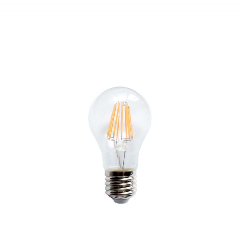 פילמנט LED 8W E27 אור צהוב