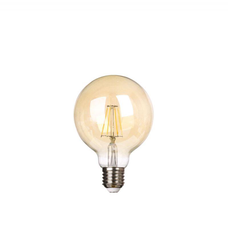 פילמנט גלוב 4W G95 אמבר אור צהוב