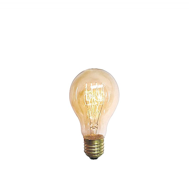נורת פחם דקורטיבית ליבון 40W E27 אור צהוב