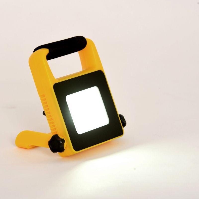 פרוז'קטור נייד +קולט סולארי LED 20W