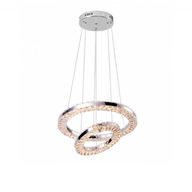 זאוס קריסטל 2 קומות LED