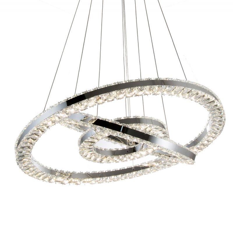 זאוס קריסטל 3 קומות LED