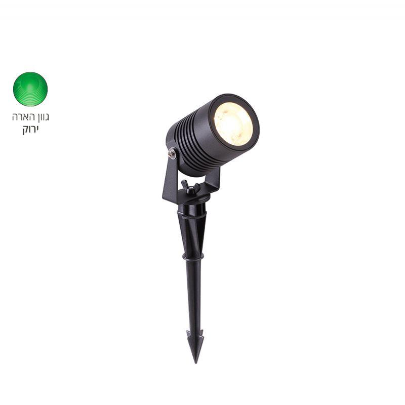 גרדן דוקרן LED 5W אור ירוק