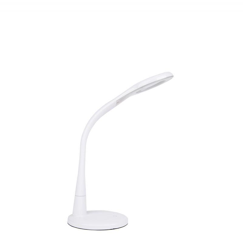 לורין שולחן זכוכית מגדלת LED