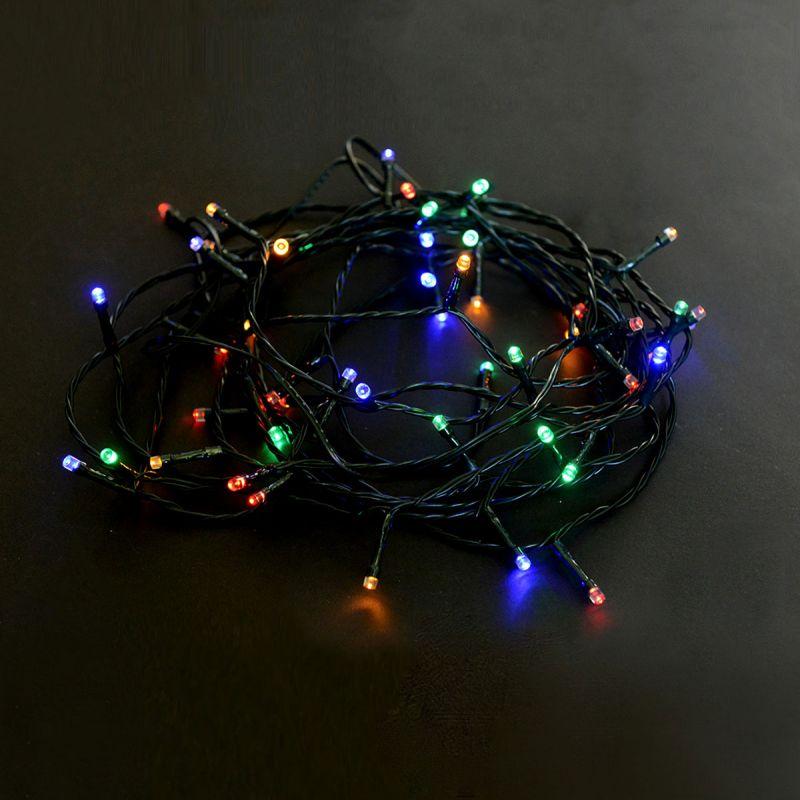 שרשרת אור 100 יח' LED סוללות
