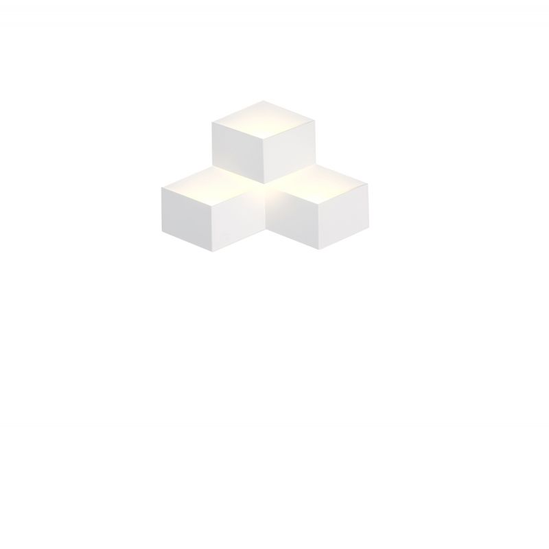 פיזה קיר שלישייה LED