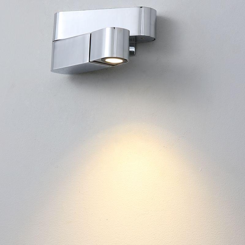 כרומו קיר נשלף שמאל LED