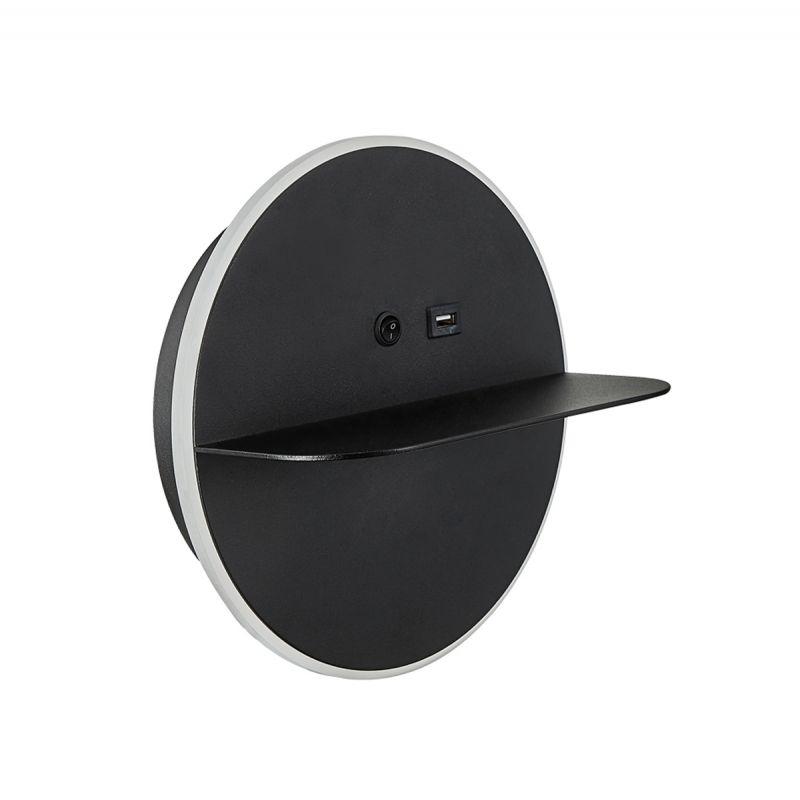 טורניר קיר עגול USB