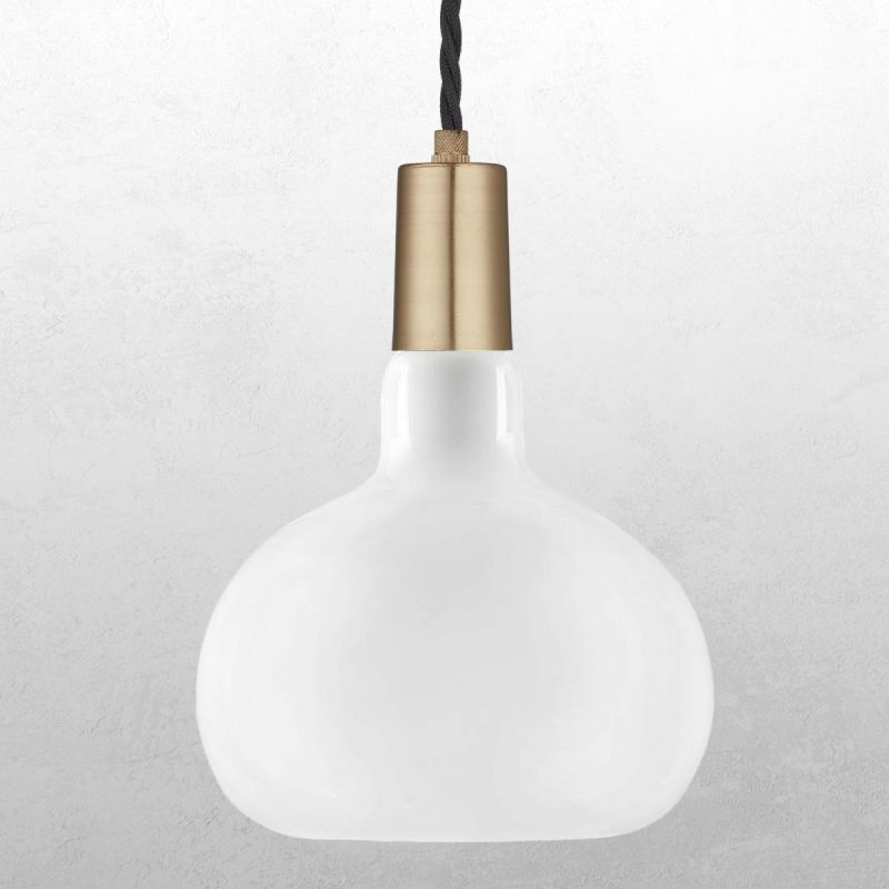 אופל LED E27 8W תפוח לעמעום אור לבן