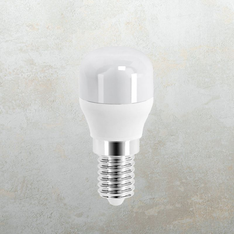 לדרסון E14 LED 2700K 2W למקרר אור צהוב
