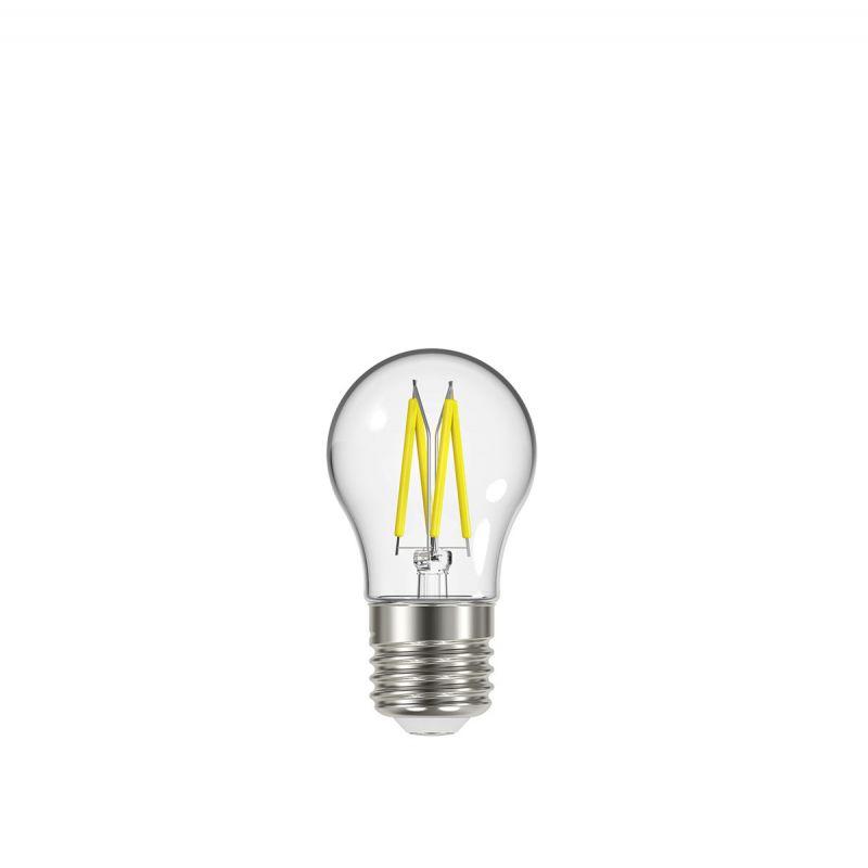 לדרסון פילמנט כדור E27 LED 4W אור צהוב