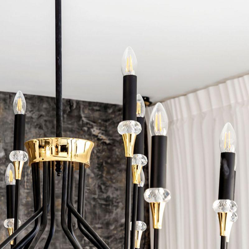 לדרסון  פילמנט נר E14 LED 4W אור לבן