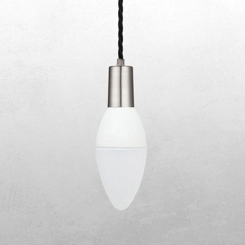 לדרסון נר E14 LED 5.2W אור לבן