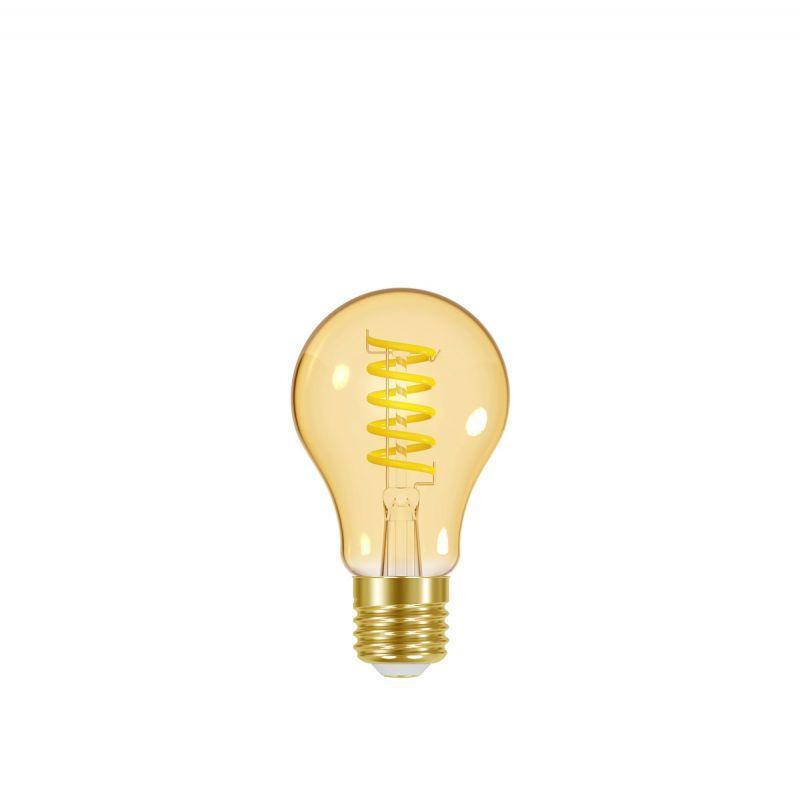 לדרסון פילמנט סליל ליבון 5W E27 אור צהוב