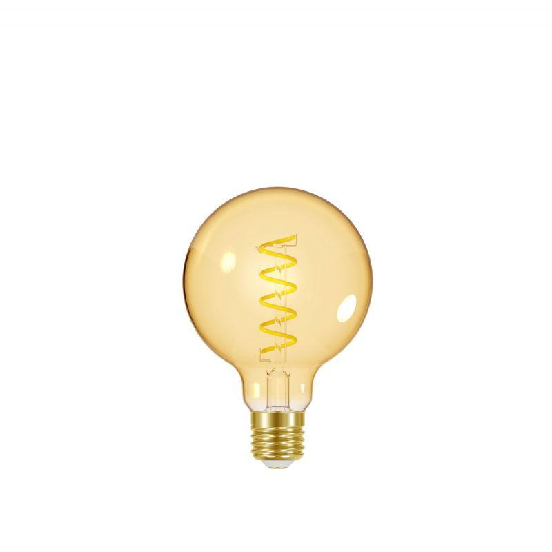 לדרסון פילמנט סליל E27 גלוב5W 95 אור צהוב