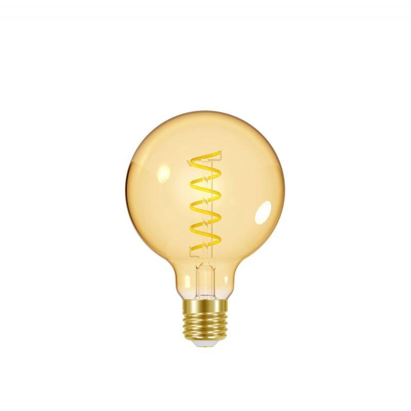 לדרסון פילמנט סליל E27 גלוב5W 125 אור צהוב