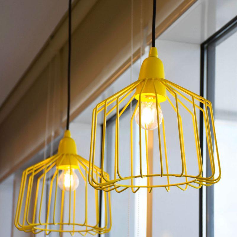 לדרסון פילמנט כדור E14 LED 4W אור צהוב
