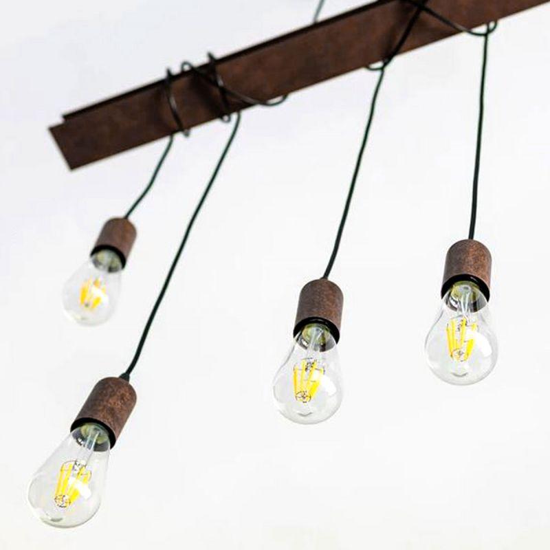 לדרסון פילמנט אגסי E27 LED 7W אור לבן