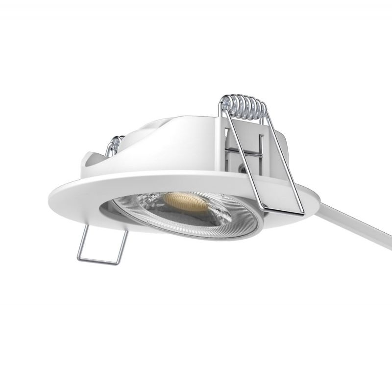 שקד שקוע מתכוונן LED