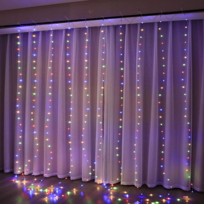 וילון LED