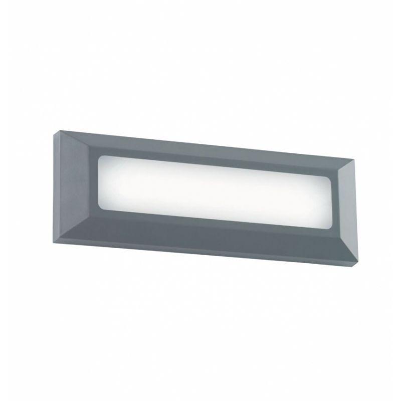 ירון קיר מלבני חלק LED