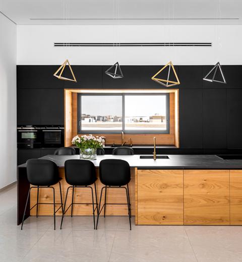 עיצוב דירת 5 חד' בבאר שבע