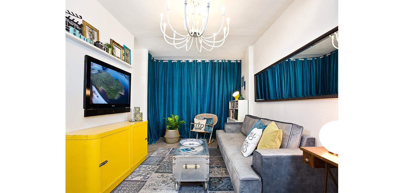דירה יצירתית בסגנון אקלקטי - תמונה מספר 5