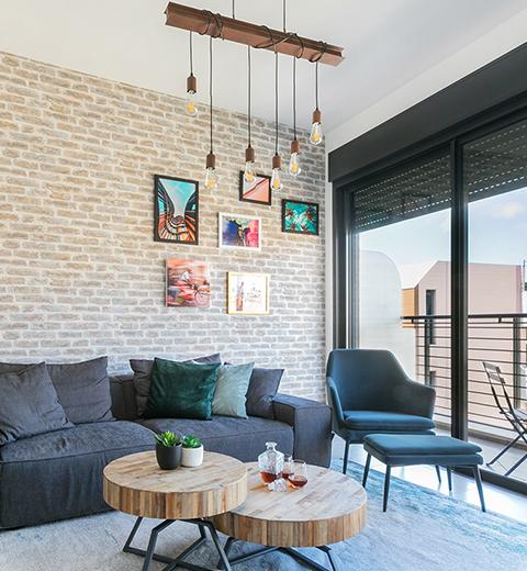עיצוב דירה בפלורנטין