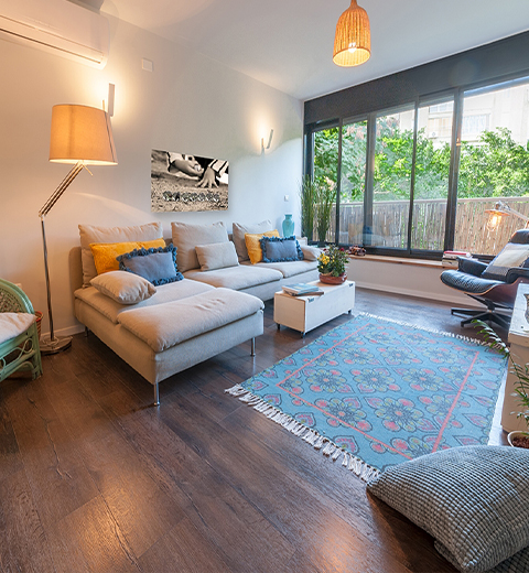 עיצוב דירה באפקה - תל אביב