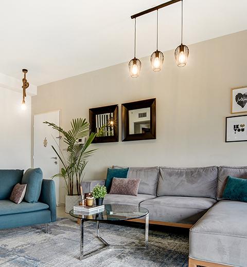 דירה בעיצוב מודרני-סקנדינבי בבאר שבע