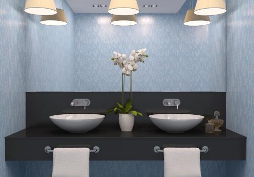 תאורה לחדרי אמבטיה