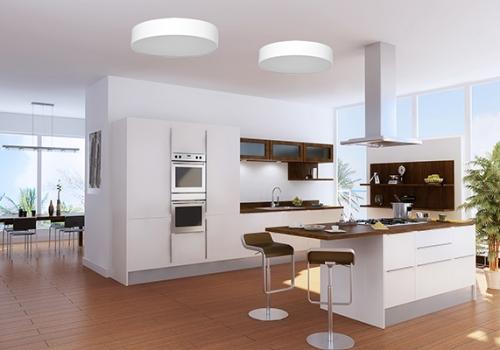 גופי תאורה למטבח - צמודי תקרה