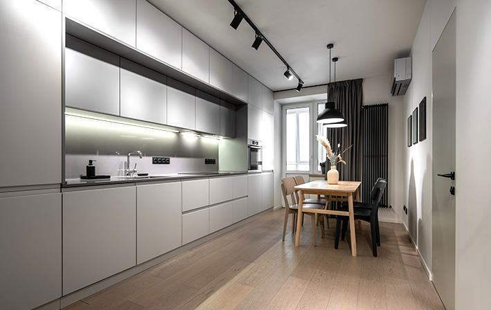 תמונת אווירה לתאורה למטבח