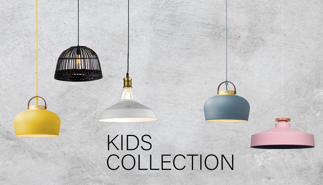 באנר מנורות לתאורה לחדרי ילדים