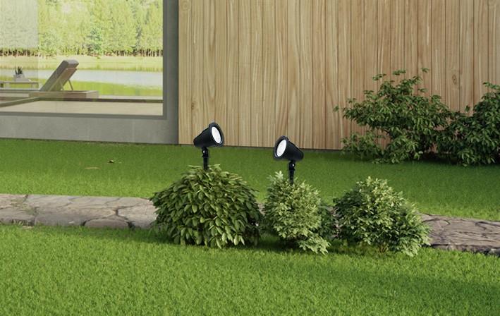 אווירה נורות לגינה
